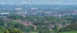 Birds eye view of Oldham