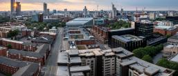 Houses and buildings in Manchester